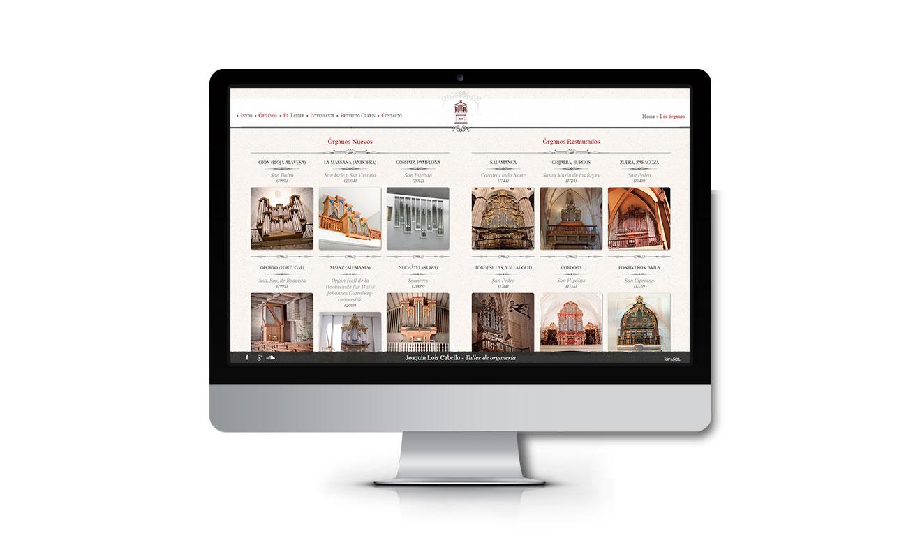 Creación de web catalogo para empresas