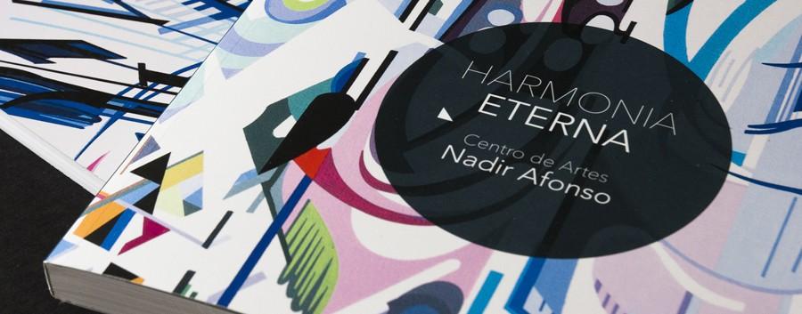 Diseño editorial del catálogo de exposición para la fundación Nadir Afonso